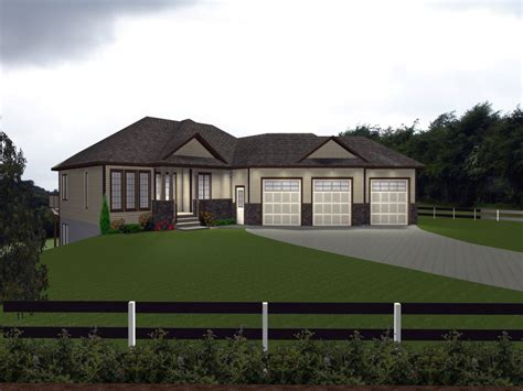 bungalow garage plans guest house plans house plans with attached 3 car garage