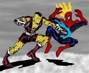 Spiderman vs Shocker   DReager1's Blog