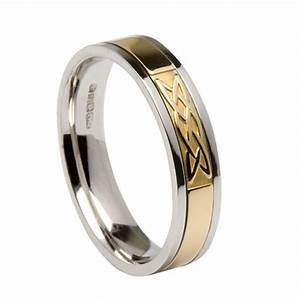 celtic love knot wedding band With love knot wedding ring