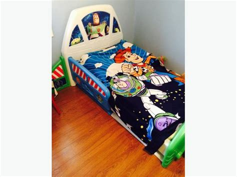 buzz lightyear story toddler bed frame kanata ottawa