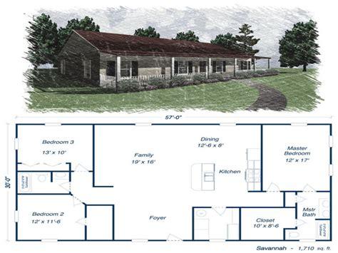 Metal Building Homes Floor Plans Metal House Kits And