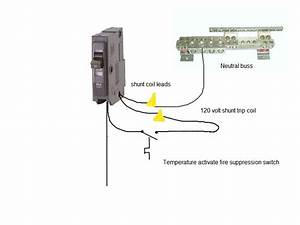 Shunt Trip Wiring Diagram For Elevator