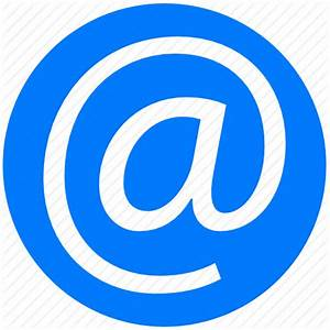 Address at blue contact contacts e mail email mail