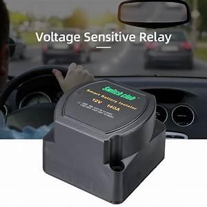 New 12v 140a Vsr Sensitive Relay Dual Battery Kit Smart