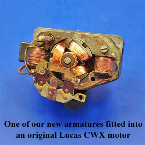 armature lucas wiper motor armature wiper motor windscreen and wipers vintage car parts