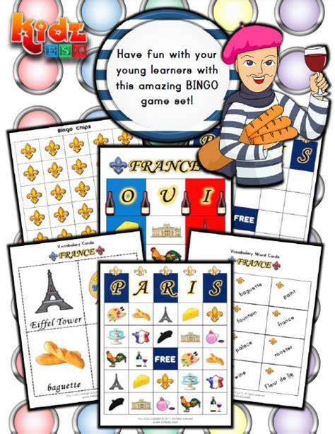 france activities games  worksheets  kids