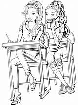 Bff Coloring Votes sketch template