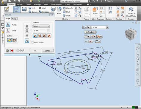autodesk inventor fusion 2012 tutorial free download