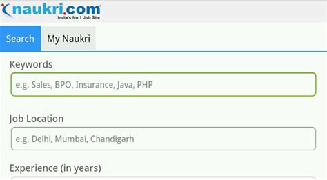 How To Resume From Naukri App by Top Mobile Apps For Mba Students And Professionals Page 8 Mba Skool Study Learn
