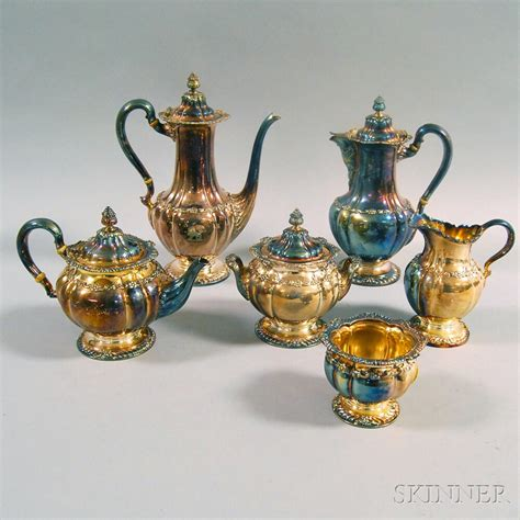This site uses akismet to reduce spam. Six-piece Tiffany & Co. Silver-plated Tea and Coffee ...