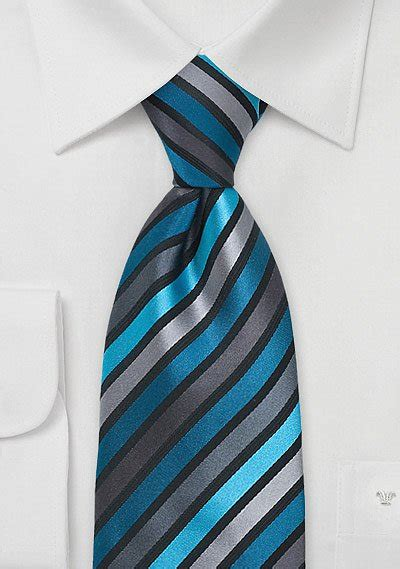 mens tie  teal  black bows  tiescom