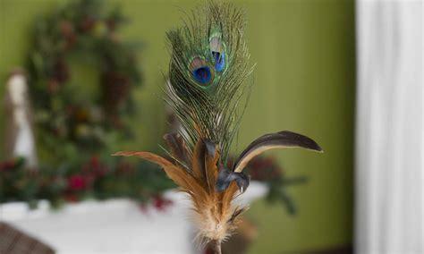 """Home Decor Peacock: 25"""" Peacock Feather Picks Home Decor NEW"""