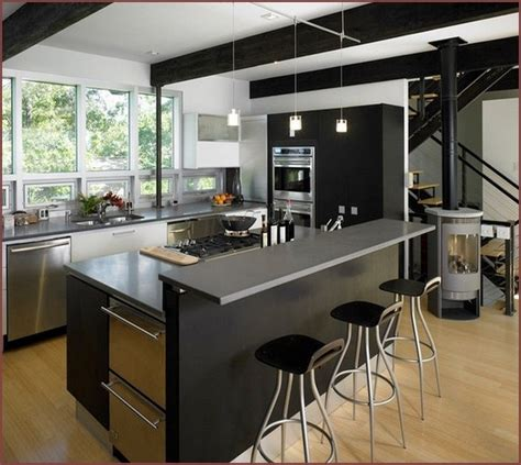modern kitchen islands with seating small kitchen island ideas with seating home design