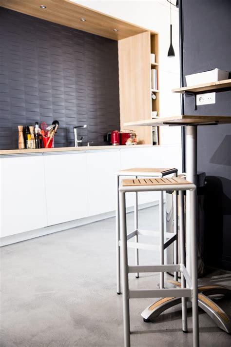 cuisine blanc niche bois cuisine blanc bois niche en