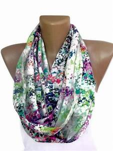 Infinity Scarf Mixed colorful women scarves cute scarf