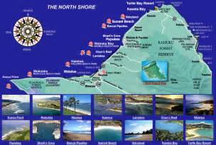 vacation homes in shore oahu hawaii information map