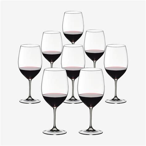bicchieri di rosso bicchieri da rosso riedel vinum 8 al prezzo di 6