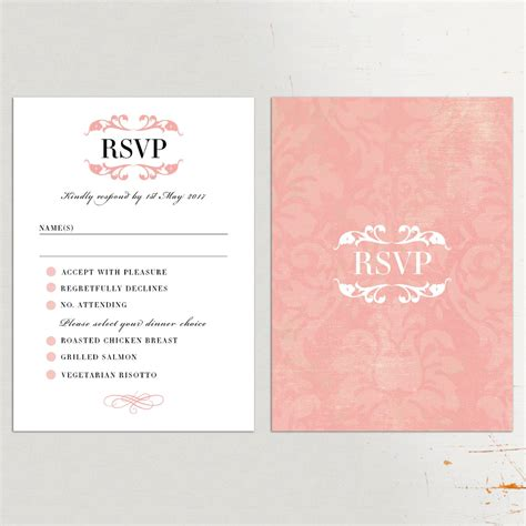 rsvp cards for weddings wording wedding invitation rsvp wording uk life style by