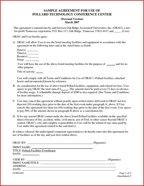 Contract Template by Basic Simple Sales Business Contract Template