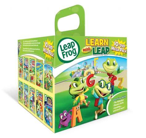leapfrog preschool leapfrog learn with leap 10 dvd mega pack only 44 99 on 635