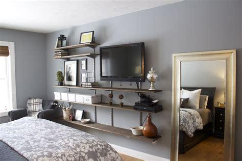 Tv In Bedroom Design Ideas by Interior Furniture Bedroom Shelves Design Ideas Tv Wall