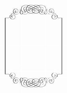 free vintage clip art images calligraphic frames and With free wedding invitation pictures clip art