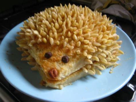 tipsy hedgehog sponge cake  almond prickles