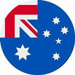 Flag Icon Australia Svg Round Wikimedia Commons