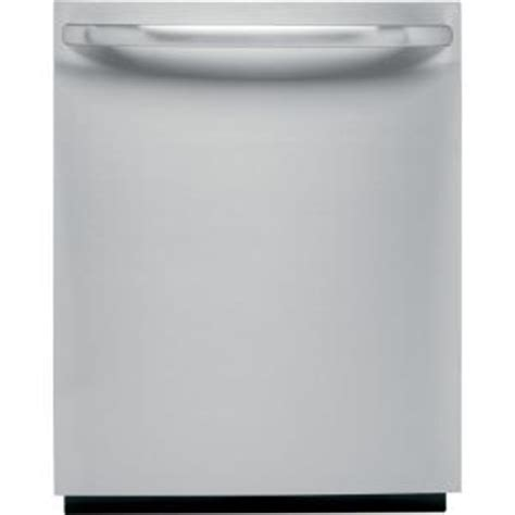ge top control dishwasher  stainless steel  stainless steel tub gldtdss  home depot