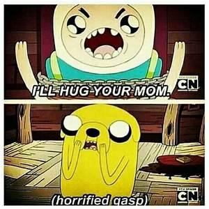 The Devastating I'll Hug Your Mom Insult By Finn To Jake ...