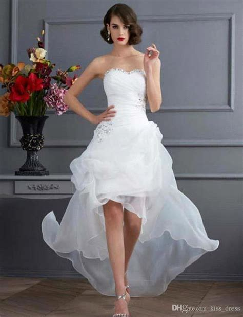 discount  summer high  casual wedding dresses