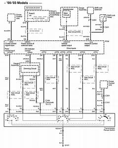 Acura Tl  2003  - Wiring Diagrams