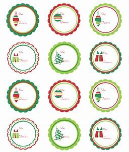 christmas labels ready to print worldlabel blog With circular labels for printing