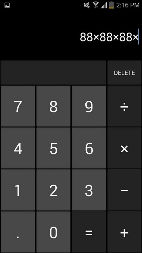 android calculator secretly call message contacts using an looking