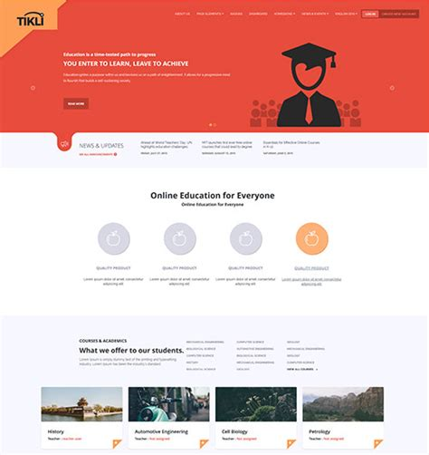 Best Moodle Themes Moodle Premium Themes Review Of Top 10 Moodle Templates
