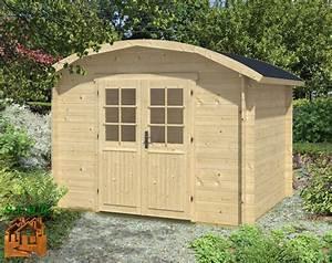 Cabanon En Bois : cabanon en bois pour un jardin rustique et styl stmb ~ Premium-room.com Idées de Décoration