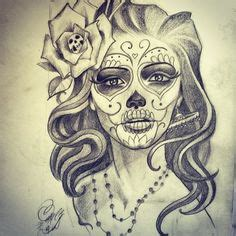 Day The Dead Tattoo Designs Chicanotattoo Design