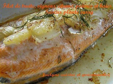 cuisiner une truite au four les meilleures recettes de truites et citrons