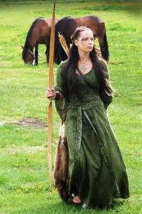 Woman Warrior Medieval Dresses