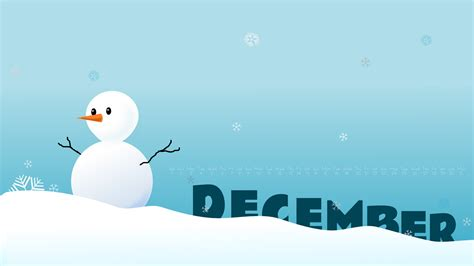 December Desktop Wallpaper