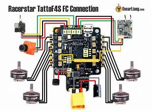 Review  Racerstar Tattoof4s Fc - Esc Integrated Flight Controller