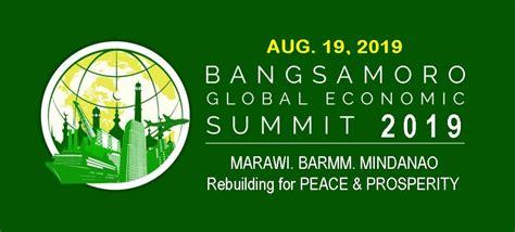 bangsamoro global economic summit  bfbci