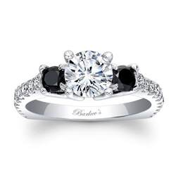 black engagement rings barkev 39 s black engagement ring 7925lbk