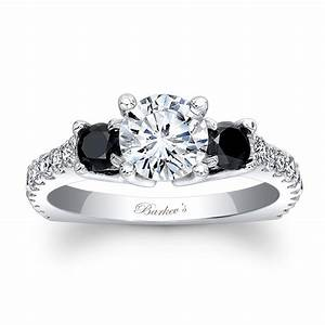 barkev39s black diamond engagement ring 7925lbk With wedding rings black diamonds