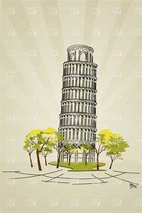 Leaning tower of Pisa from Tuscany landmark, Travel ...