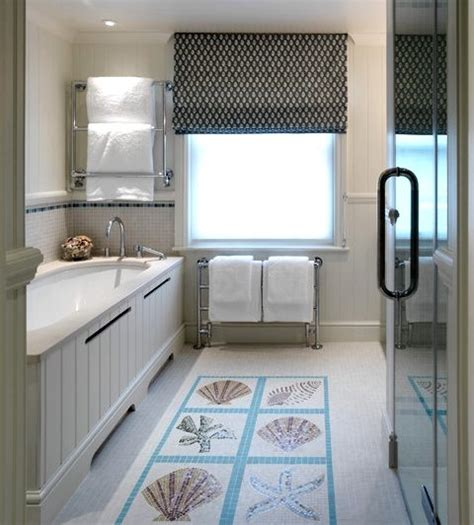 Cottage Kitchen Backsplash Ideas - beach tile art for bathrooms and kitchens inspired from the beach