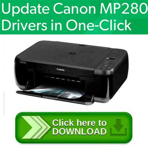 Driver installations for windows : Canon PIXMA MP280 SERIES Setup CD - ROM - Tools & Trips for share