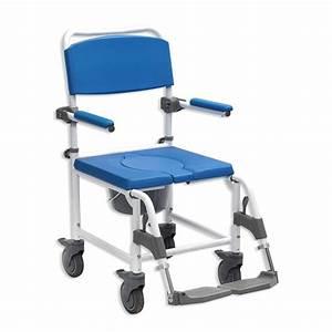 Chaise à Roulettes : chaise de douche perc e roulettes 2 en 1 aston ~ Teatrodelosmanantiales.com Idées de Décoration