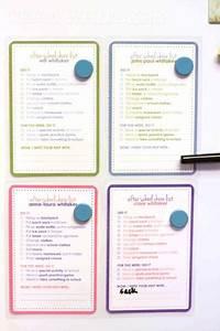 Chore Chart Checklist Hdydi After School Chore Checklist Team Whitaker