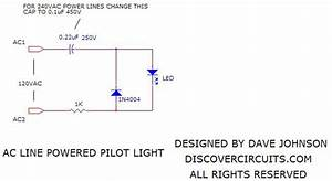 Ac Line Powered Led Pilot Lights